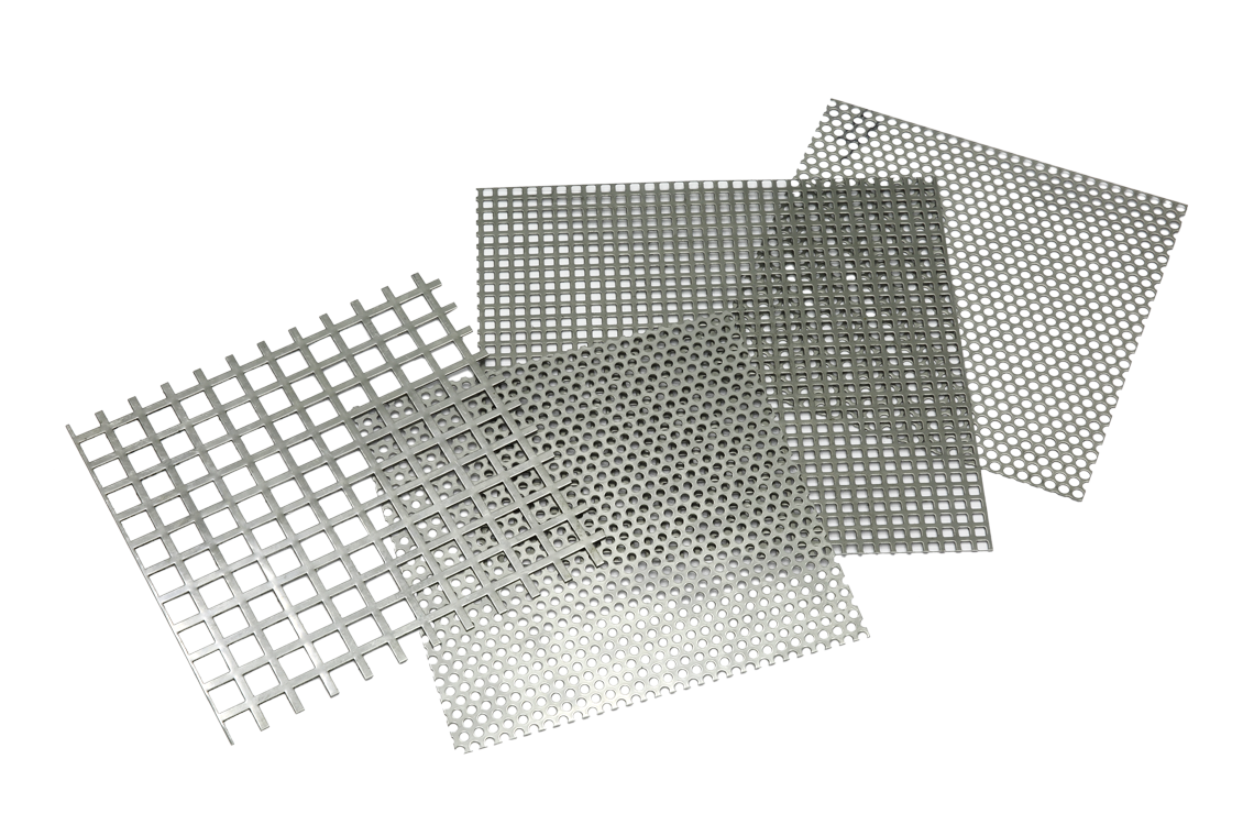 Standard perforated plates