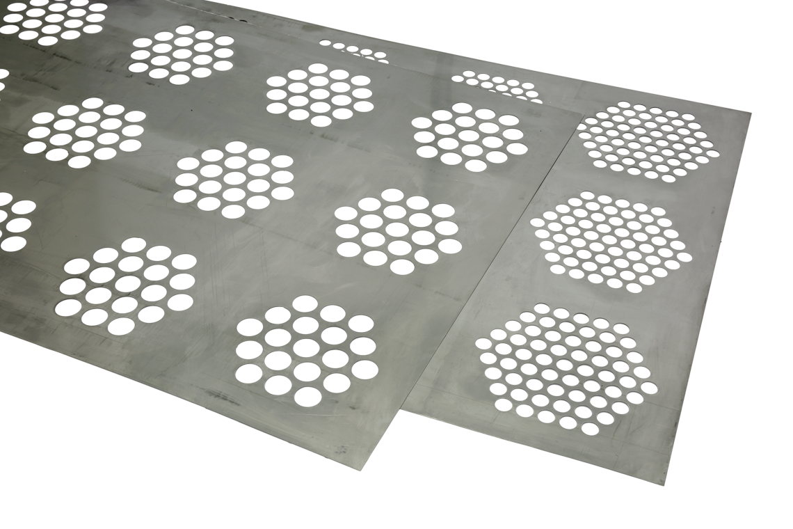 Zone perforation plates